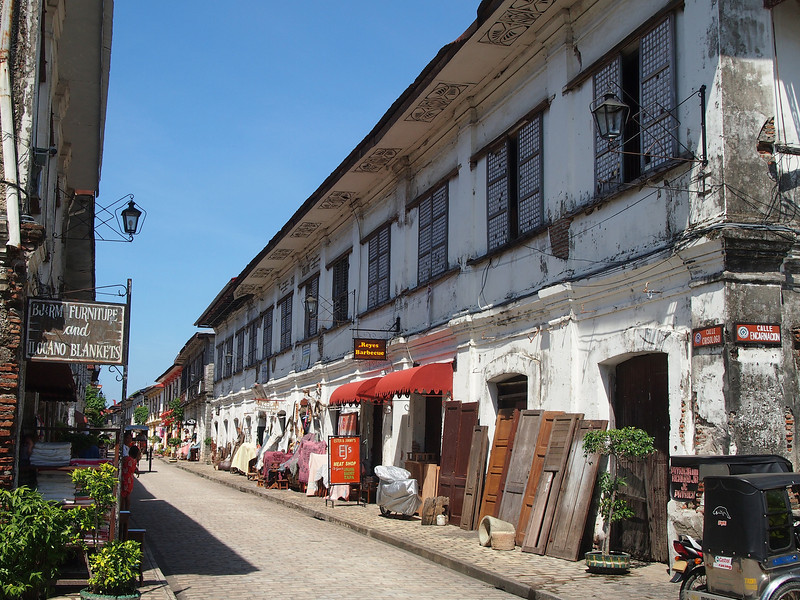 Calle Mena Crisologo. Glad to see the cobblestones and the quaint houses. I can only picture what Pre-war Manila looked like.
