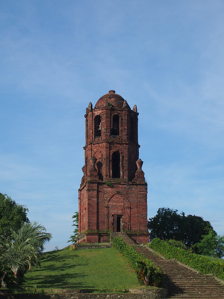 The Bantay bell tower that also functions as a watch tower. It's in the highest part of town.