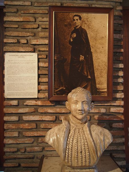 The bust of Father José Burgos. Before Rizal, there was Burgos.